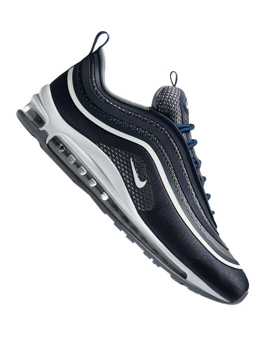 pre order uk cheap sale discount Men's Navy Nike Air Max 97 Trainers | Life Style Sports