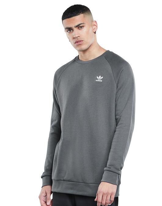 Mens Essentials Crew Neck Sweatshirt