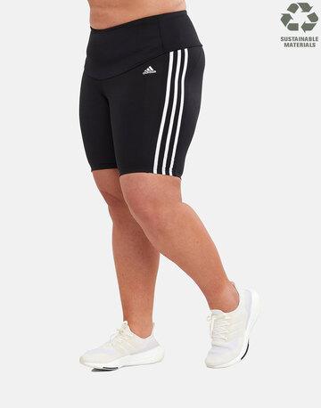 Womens 3-Stripe Cycling Plus Short