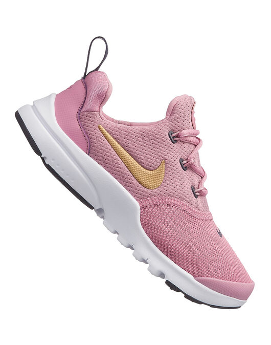 sports shoes e69db c1064 Girls Nike Presto Fly Trainers | Pink | Life Style Sports