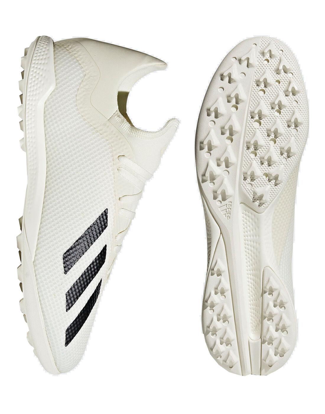 White adidas X 18.3 Astro Turf Shoes
