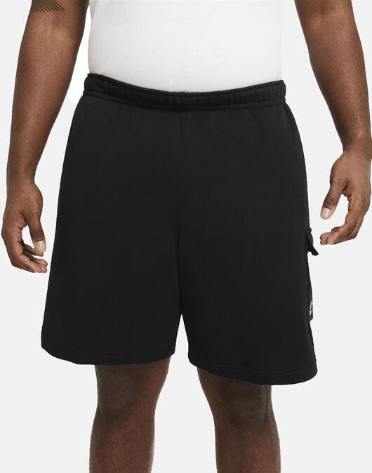Mens Club Fleece Cargo Shorts