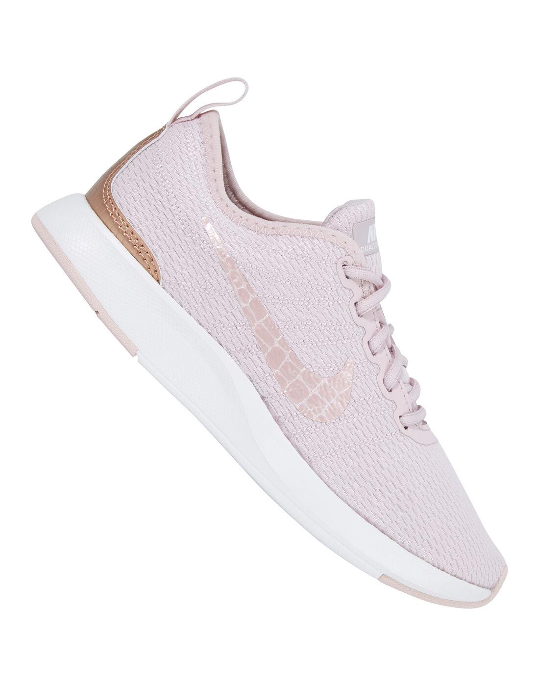 Young Girls Nike Dualtone Racer | Pink