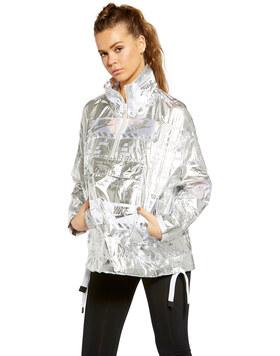 Womens Metallic Jacket