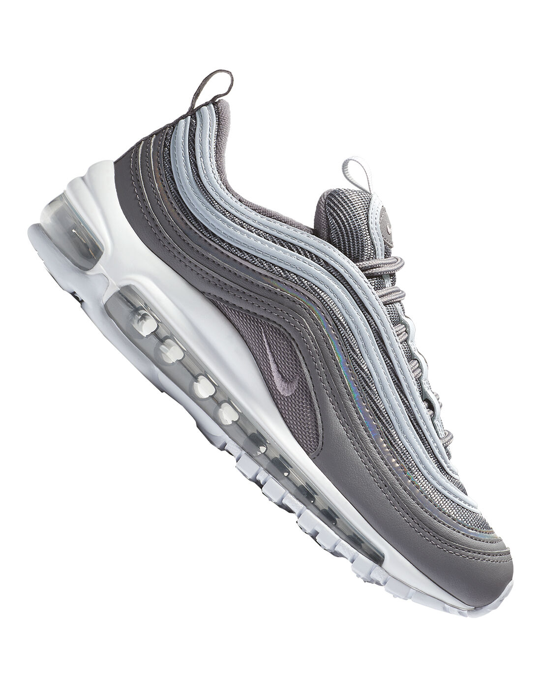 Kid's Grey Nike Air Max 97 Ultra Life Style Sports  Life Style Sports
