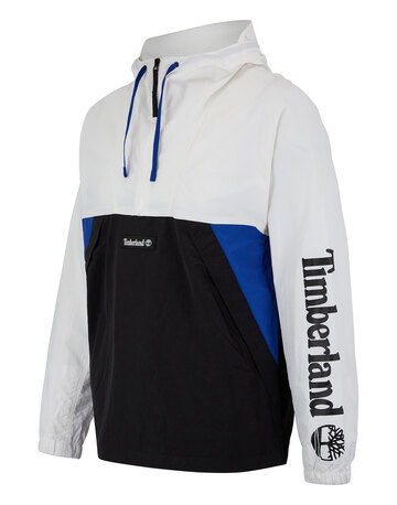 Mens Windbreaker Pull Over Jacket