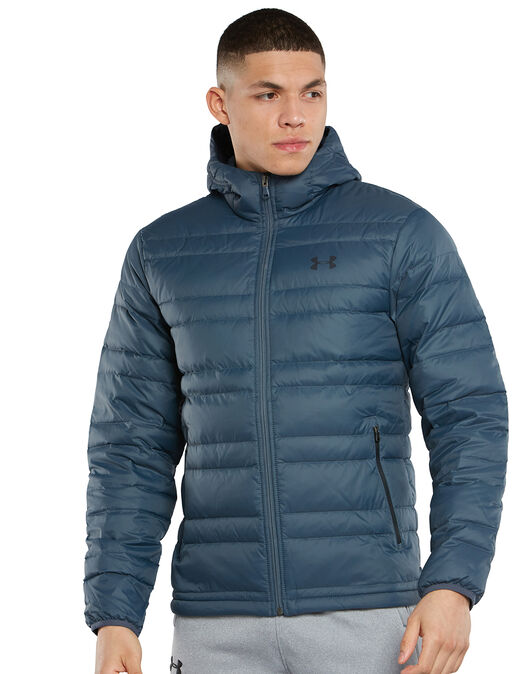 Mens Down Hooded Jacket