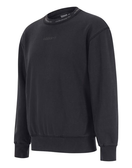 Mens Premium Overdyed Crew Neck Sweatshirt