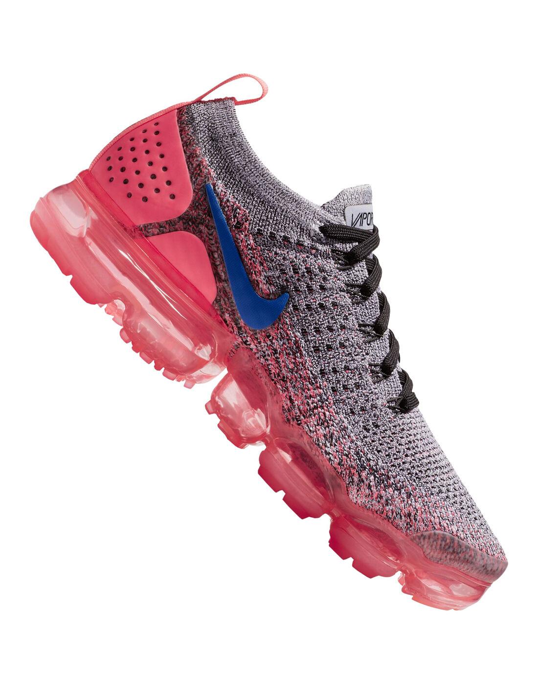 nike di donne vapormax flyknit 2 rosa dello stile di vita sportiva