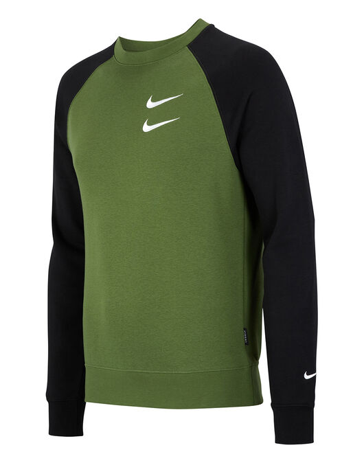 Mens Swoosh Crew Neck Sweatshirt