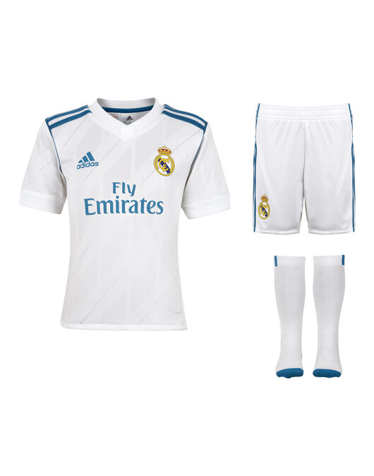 Kids Real Madrid 17/18 Home Kit