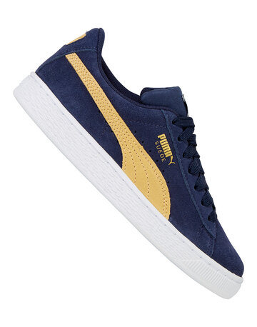 Older Boys Suede Classic