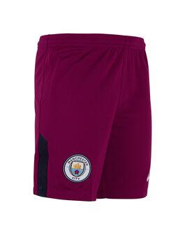 Man City Kids 17/18 Away Shorts