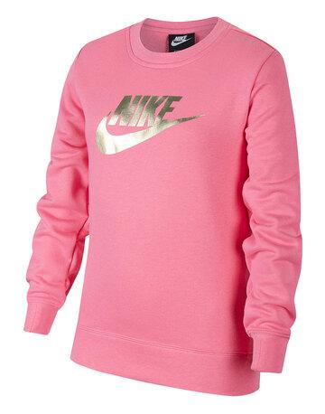 Older Girls Shine Crewneck Sweatshirt
