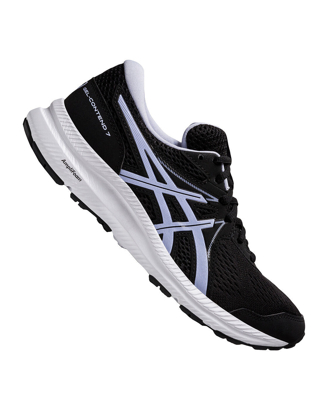Asics Womens Gel-Contend 7 - Black | nike air force 1 femme paypal ...