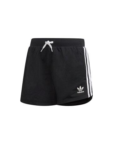 Older Girls 3 Stripe Trefoil Shorts