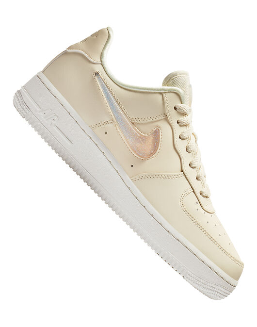 Women s Cream Nike Air Force 1 Jelly Puff  82c6703d24