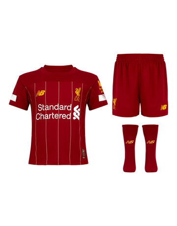 3a6dd401ecf Kids Liverpool 19 20 Home Kit ...