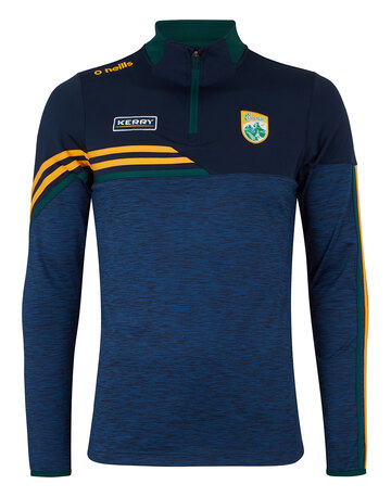 Mens Kerry Nevis Brushed Half Zip Top