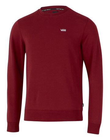 Mens Logo Fleece Crew Neck Sweatshirt