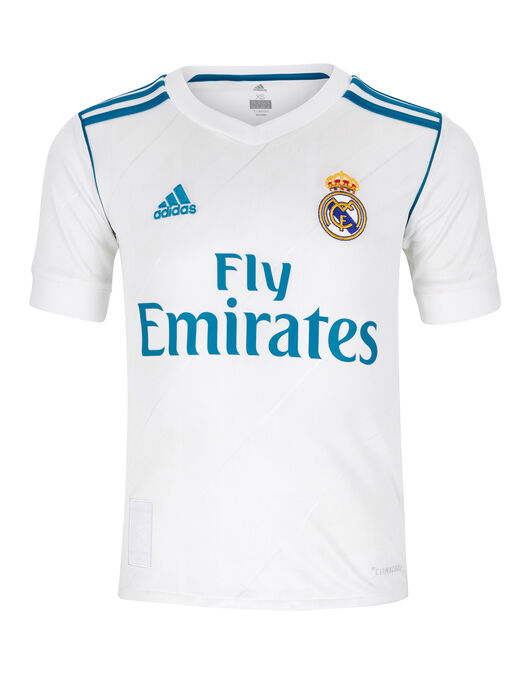 Kids Real Madrid 17/18 Home Jersey