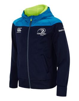 Boys Leinster Fleece Zip Hoody 2017/18