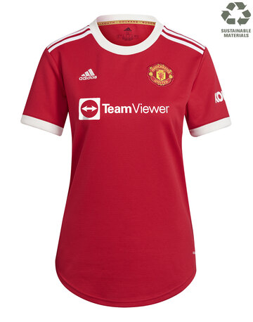 Womens Manchester United 21/22 Home Jersey