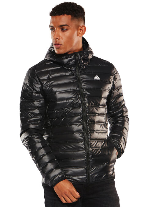 c17aa6c215e9 adidas. Mens Varilite Hood Down Jacket