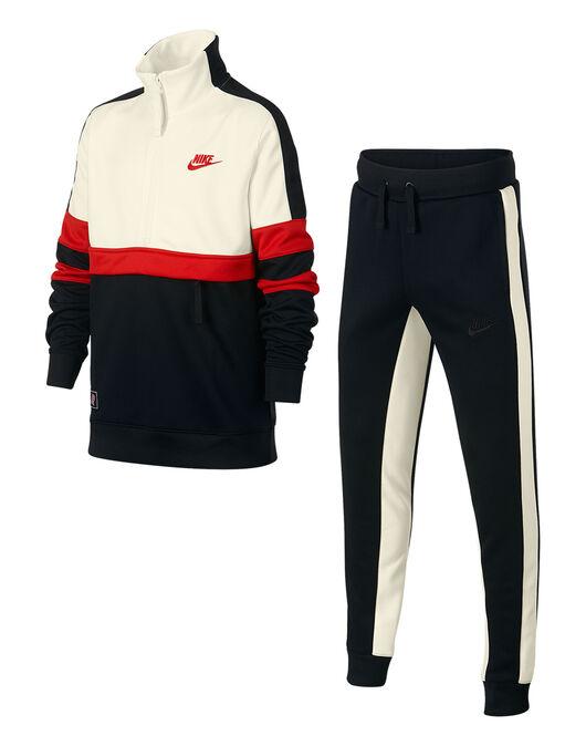 59663ee86916 Boy s Black   Cream Nike Air Tracksuit