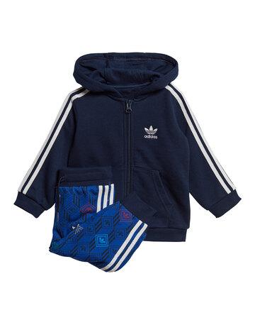 Infants Full Zip Hoodie Set