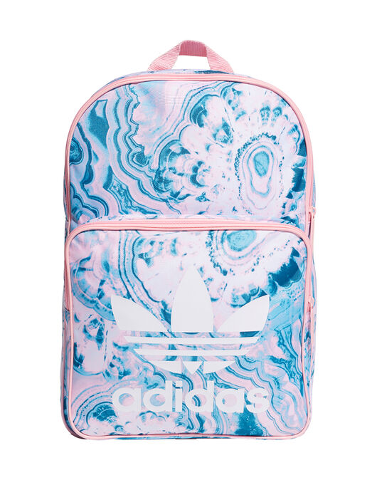 Trefoil Tie Dye Print Backpack