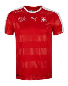 Mens Switzerland Home 2016 Jersey