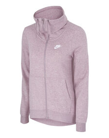 Womens Fleece Full Zip Hoody