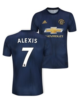 Adult Man Utd Alexis 3rd Jersey