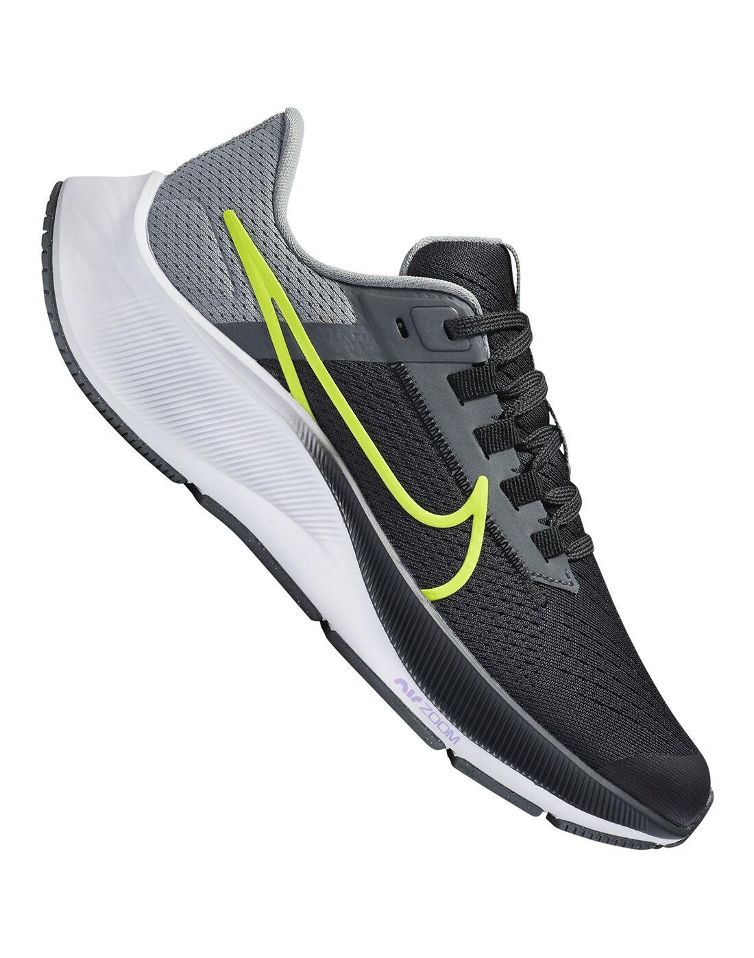 Nike Older Kids Air Zoom Pegasus 38 - Grey | adidas home gym ...