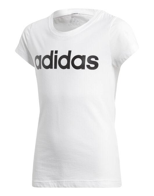 5232c5b43 adidas Older Girls Linear T-Shirt | Life Style Sports