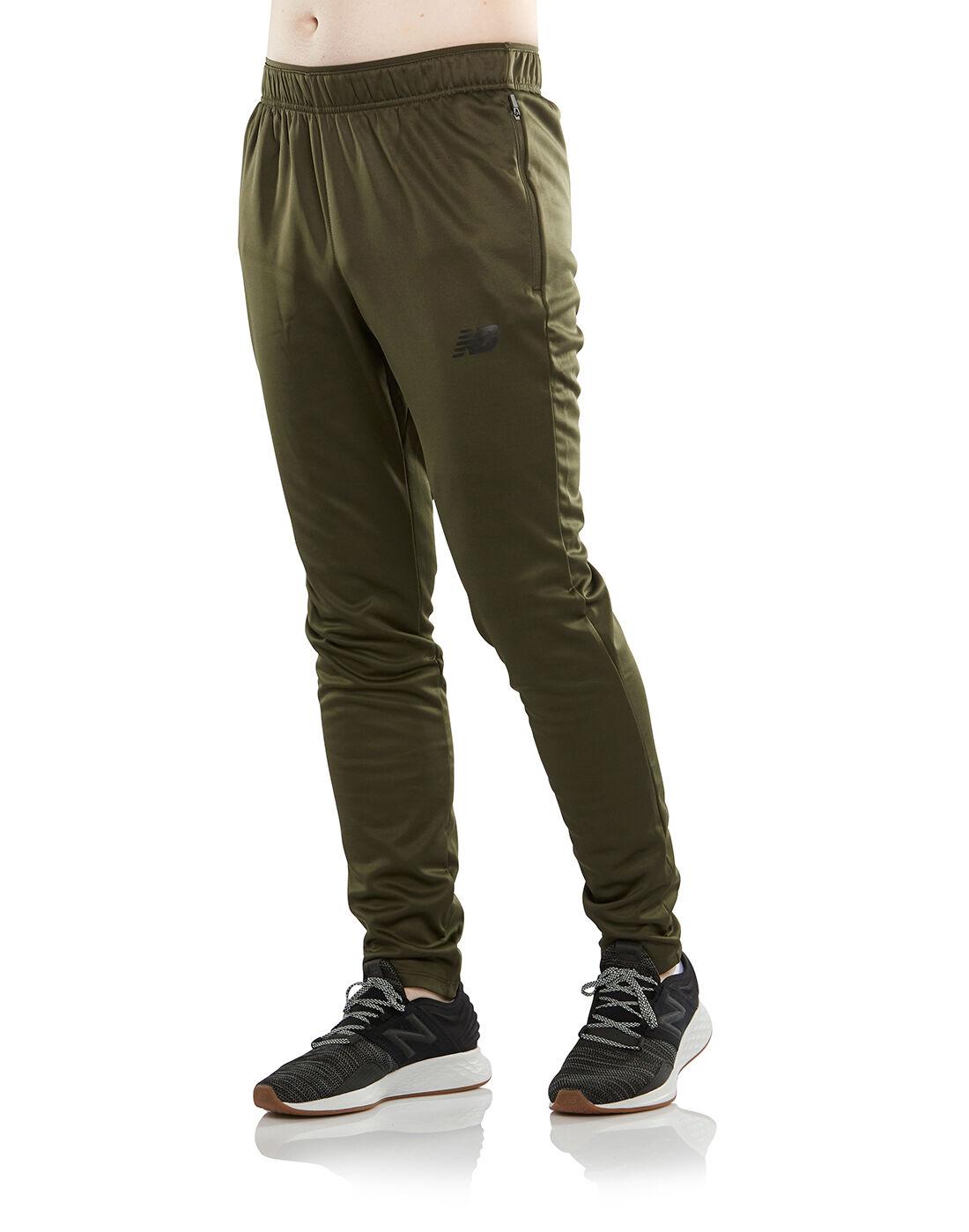New Balance Mens Street Training Knit Slim Pants