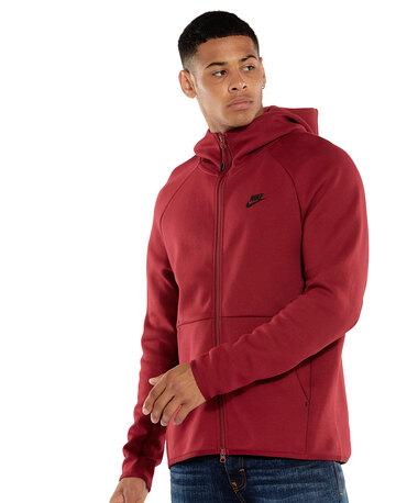 Mens Tech Fleece Full Zip Hoodie