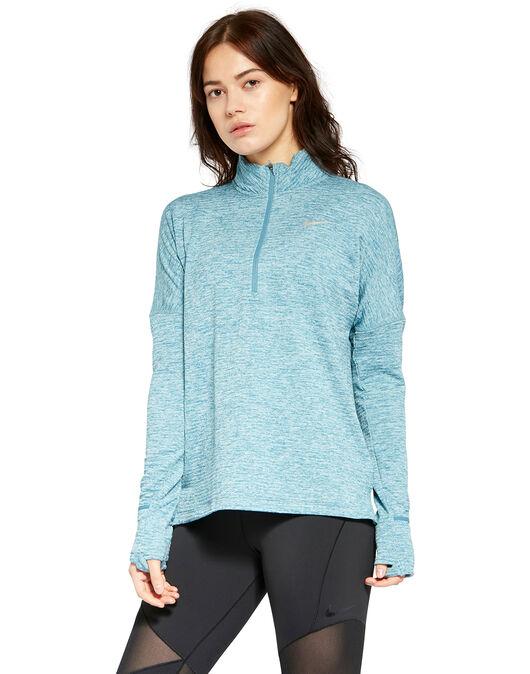 rápido loseta Mal  Nike Womens Element Sphere Half Zip - Blue | Life Style Sports IE