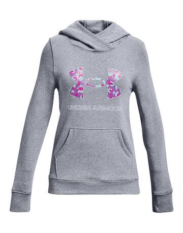 Older Girls Fleece Logo Hoodie