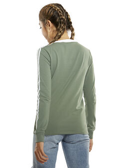 Womens 3 Stripes LS T-Shirt
