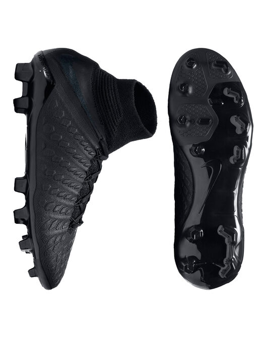 Kids Hyerpvenom Phantom Elite FG Stealth
