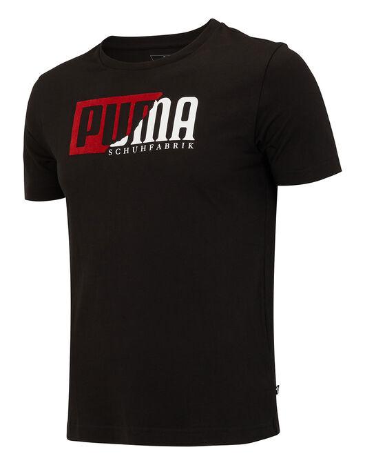 Mens Flock Graphic T-Shirt