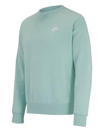 Mens Club Fleece Crew Neck Sweatshirt