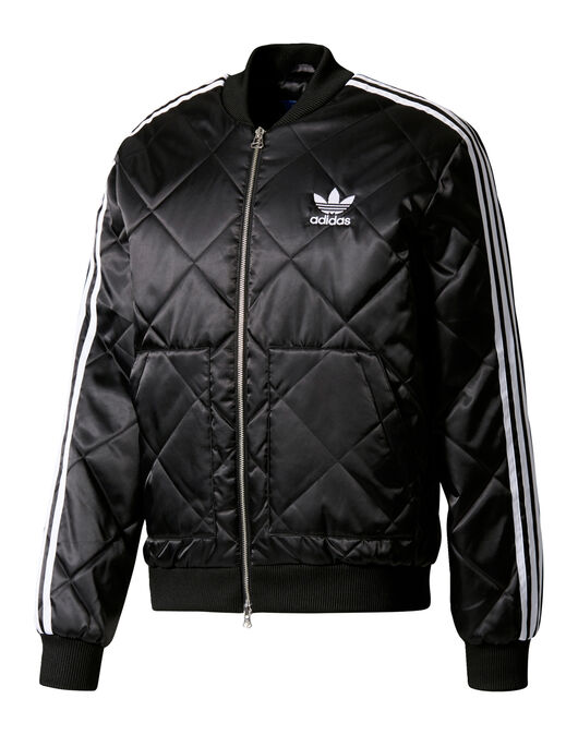 Mens Superstar Quilted Track Top