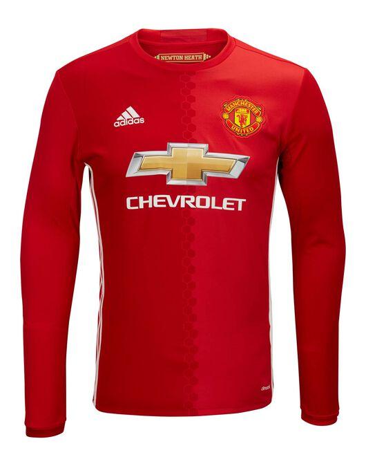 Kids Man Utd Home Jersey