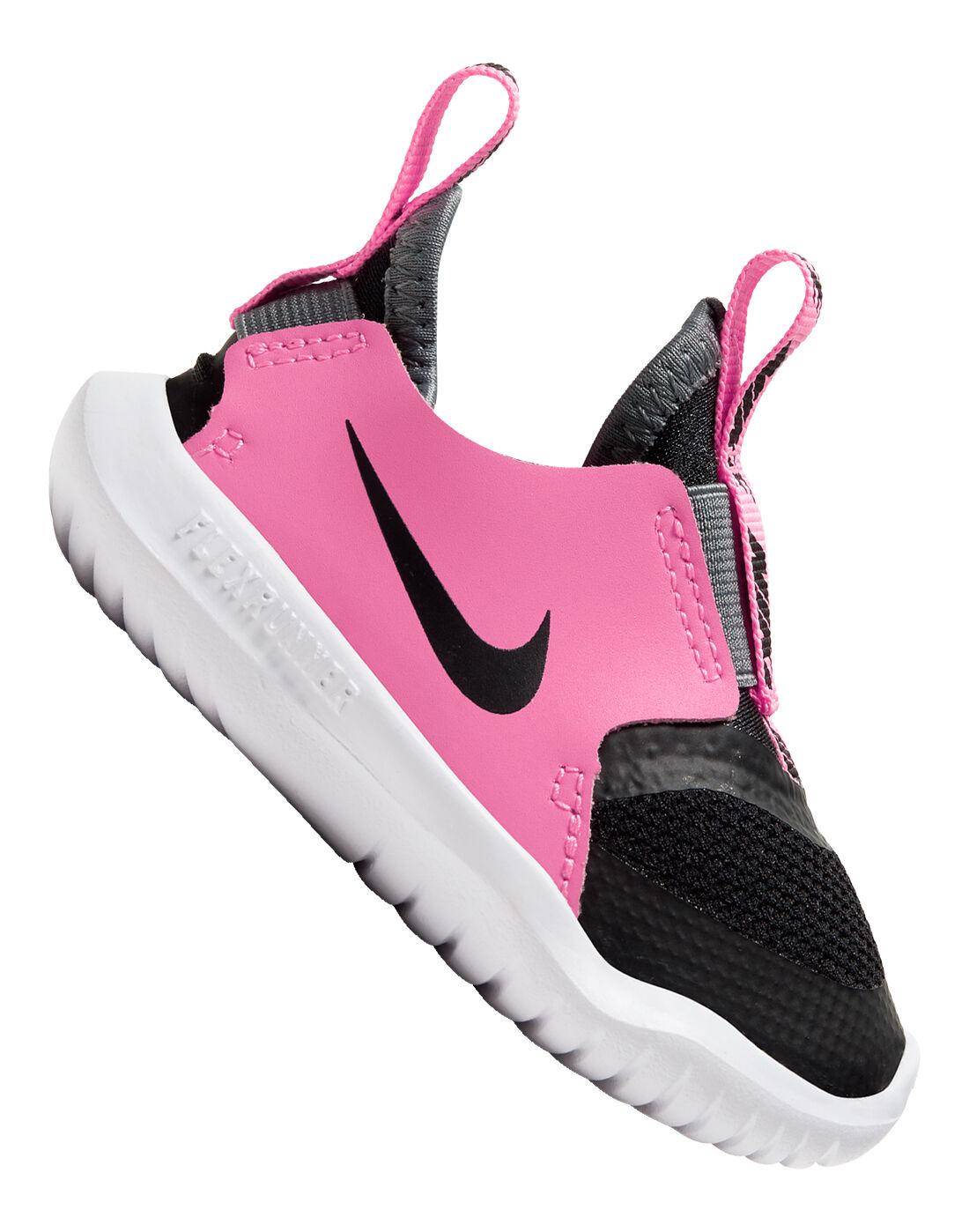 Nike Infant Girls Flex Runner - Black