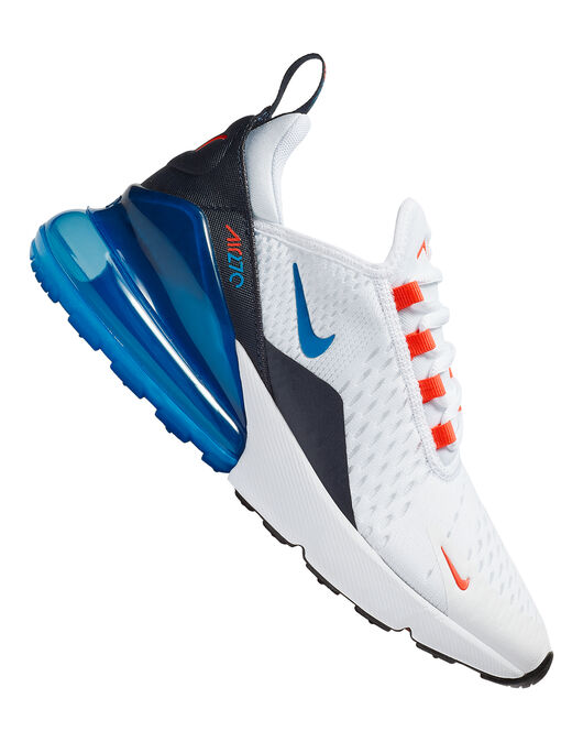 more photos 40547 97c04 Kid's Blue Nike Air Max 270 | Life Style Sports