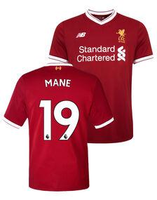 Kids Liverpool Mane 17/18 Home Jersey