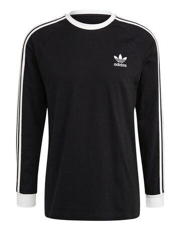 Mens 3-Stripes Long Sleeved T-Shirt
